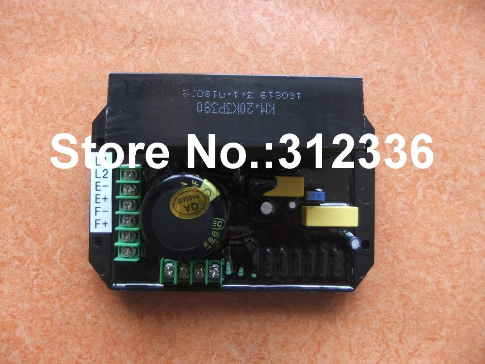Free shipping 380V AVR KGE12E3 KGE20E3 KGE15E3 KM20K3P380 generator spare parts suit for kipor Kama  Automatic Voltage Regulator