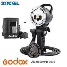 Godox AD H600Bハンドヘルド延長ヘッド+ PB 600Bキャリーポータブルバッグ用godox AD600B/AD600BMワイヤレスストロボフラッシュ(bowenmount)