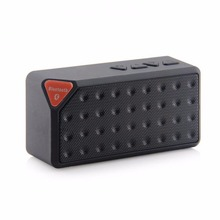 mini Bluetooth Speaker X3 Fashion Style TF USB Wireless Portable Music Sound Box Subwoofer Loudspeakers kalonki with Mic