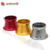 55mm 7 colores de La Motocicleta de modificación Del Carburador Filtro De Aire Taza de La Taza de Viento Taza Cuerno De Aleación De Aluminio