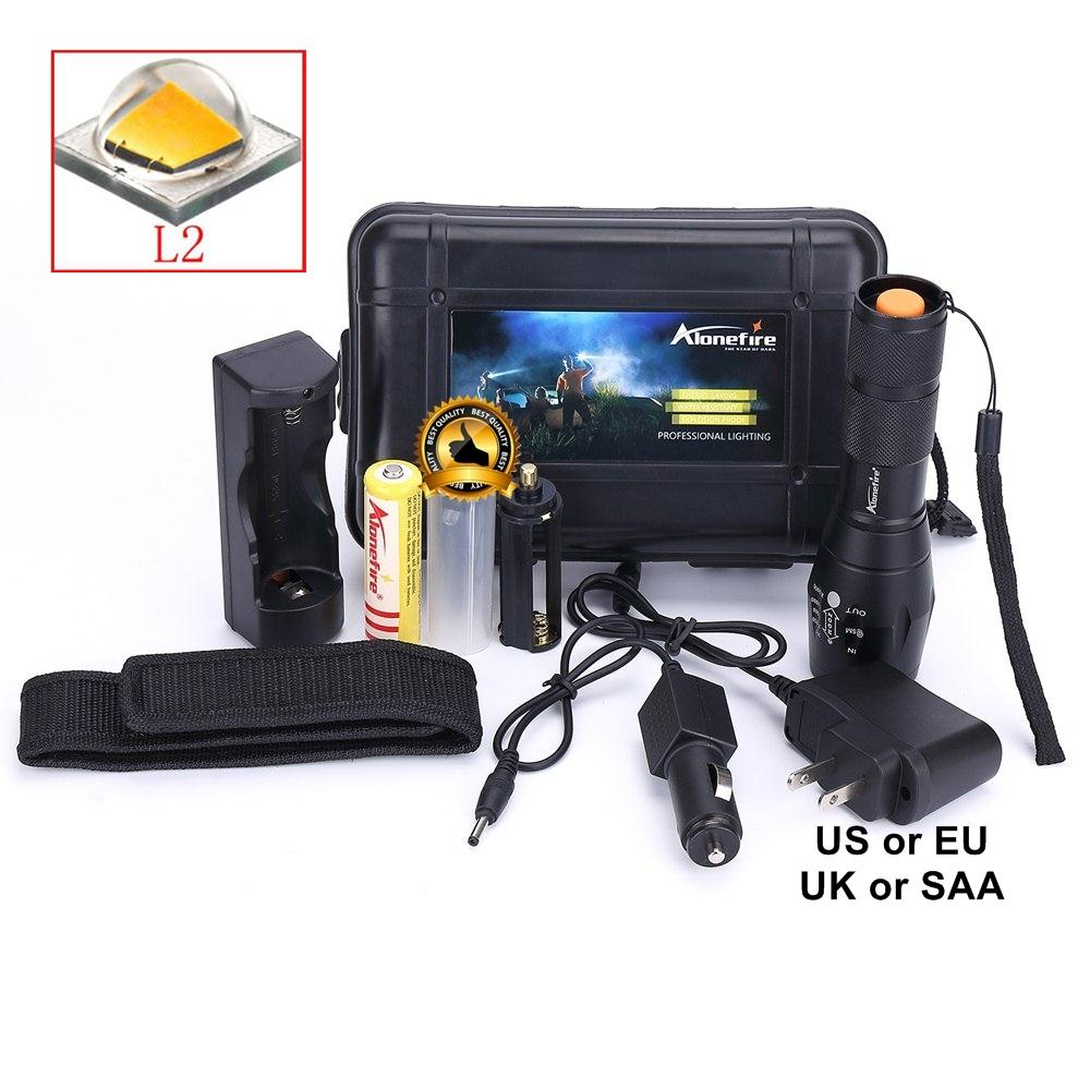 Alonefire G700/E17 CREE XM-L2 U3 3800LM High power Zoom LED Flashlight Torchlight For AAA or 18650 battery+flashlight holster alonefire e17 cree xm l2 3800lm aluminum high power zoom cree led flashlight torch light for aaa or 18650 rechargeable battery