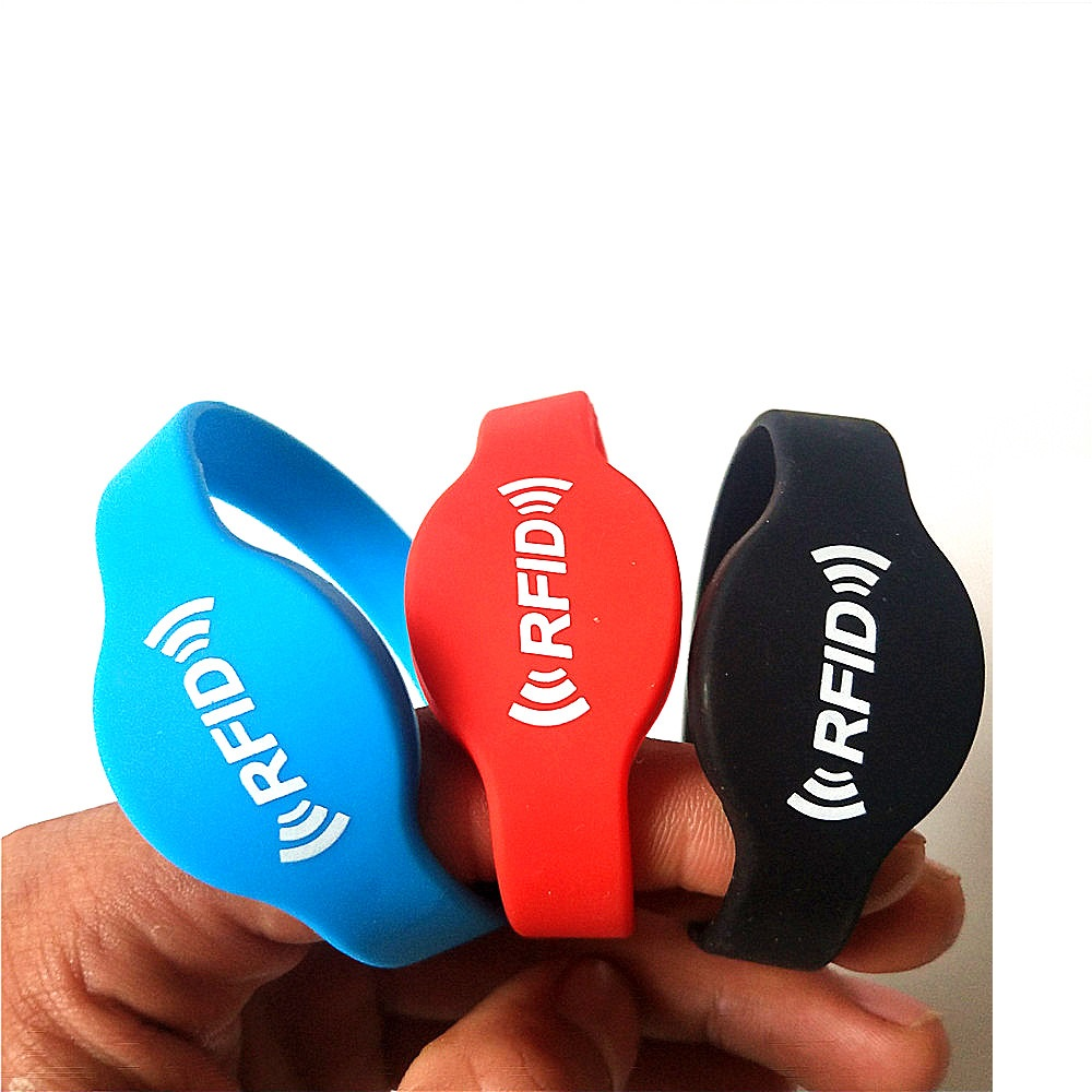 10Pcs Waterpoof Writable Rewrite 125khz Duplicator Silicone Rfid T5577 Wristband