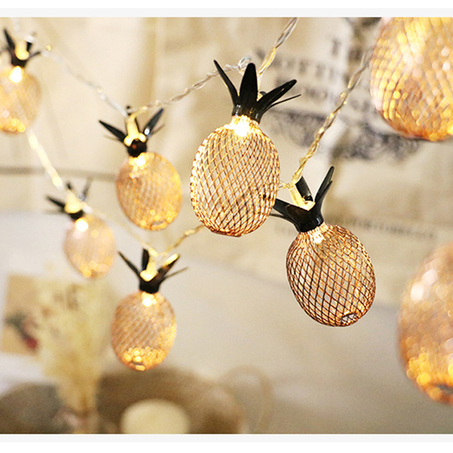 Pineapple LED String Lights