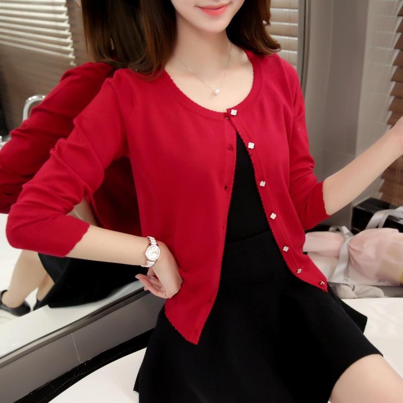 OASPEȚI 3075 - 2018 Versiunea coreeană a noului cardigan de - Îmbrăcăminte femei - Fotografie 3