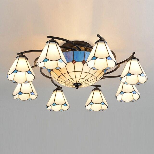Us 7000 Sklep Lampy Sufitowe Dekoracyjne Sufitowe Oprawy Oświetleniowe Piękne Koloru światła Sufit Odcień Led Lampy Sufitowe Salon światła W