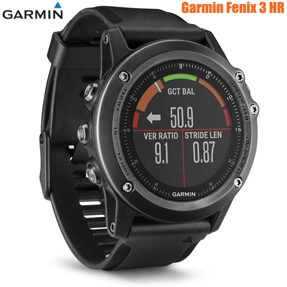 Garmin Fenix 3 HR Bluetooth 4.0 100m Waterproof Smart Watch WIFI Wireless GPS GLONESS Heart Rate