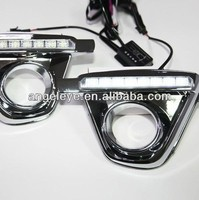 2013 2014 Year For Mazda CX5 CX 5 6pcs LED DRL Daytime Running Light V1