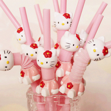 Hello Kitty Drinking Straws