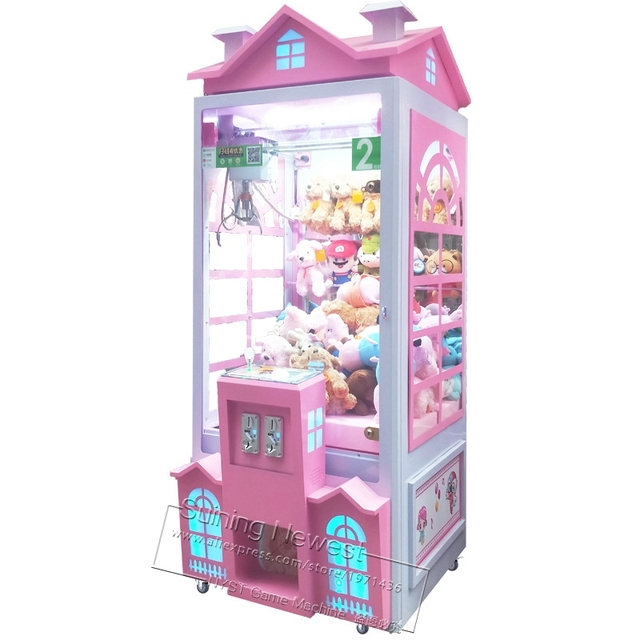 Beautiful House Doll Toys Cranes Claw Machine Coin Operated Amusement Game Machine For Amusement Park