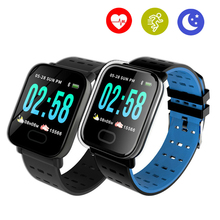 Smart Watch Heart Rate Monitor Waterproof Sport Fitness Tracker Sleep Monitor Sport for IOS Android symrun smart watch heart rate monitor sleep tracker hands free calls for ios and android smart phones with speaker smart watch