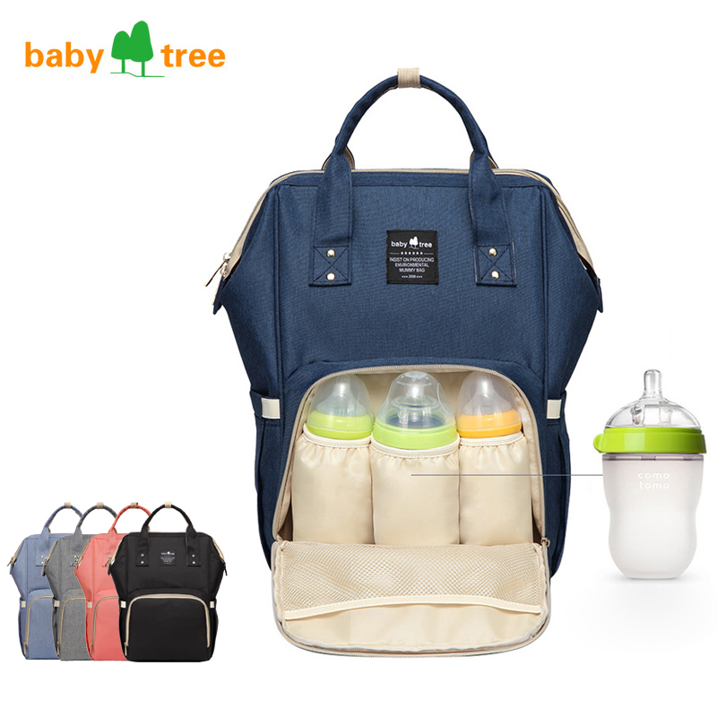 Baby Mummy Bag Baby Diaper Nappy Backpack Multi-Function Waterproof Large capacity US