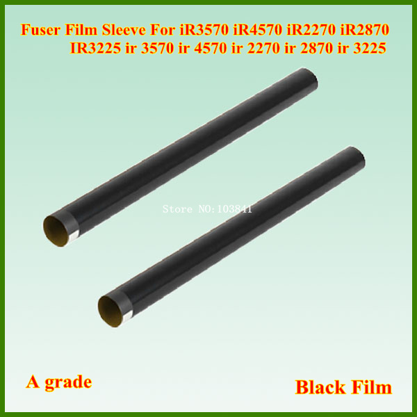 10pcs/lot Grade A Fuser Film Sleeve for Canon IR2016 IR2200 IR3570 IR4570 IR3035 IR3045 IR3030 IR3230 Printer Telfon film