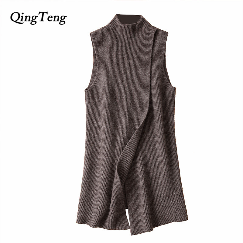 Здесь продается  High Quality Women Sweaters 100% Cashmere Knitwear Korean-Style Fashion Long Pullovers Female Winter Oneck Standard Clothes Tops  Одежда и аксессуары