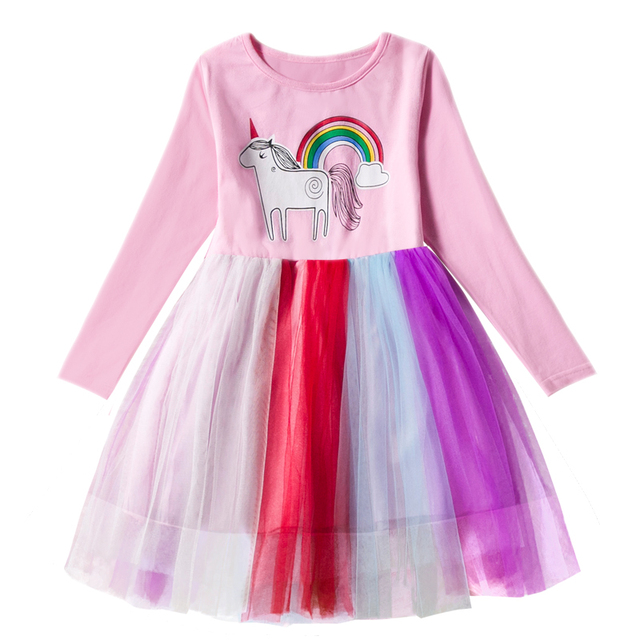 144d63da81b9e US $5.87 38% OFF|Little Baby Girls Dress Lace Princess Party Fancy Costume  Ballet Tutu Children Dresses Christmas Beautiful Clothes For Kids 7T-in ...