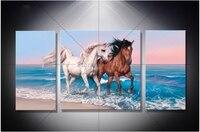 New Arrived 5D Diamond Painting Horse Cross Stitch Kits Full Rhinestones Diamond Embroidery Pattern Mosaic Decor