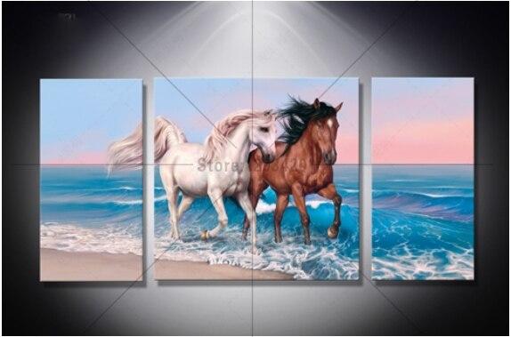 New Diy 5D Diamond Painting Cross Stitch horse Kits Full Rhinestones diamond Embroidery Pattern diamond mosaic Decor crafts