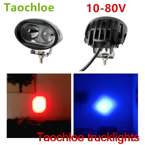 9 80v Blue 48v 24v 3inch 64v 20w Light Vehicle Safety Lamp