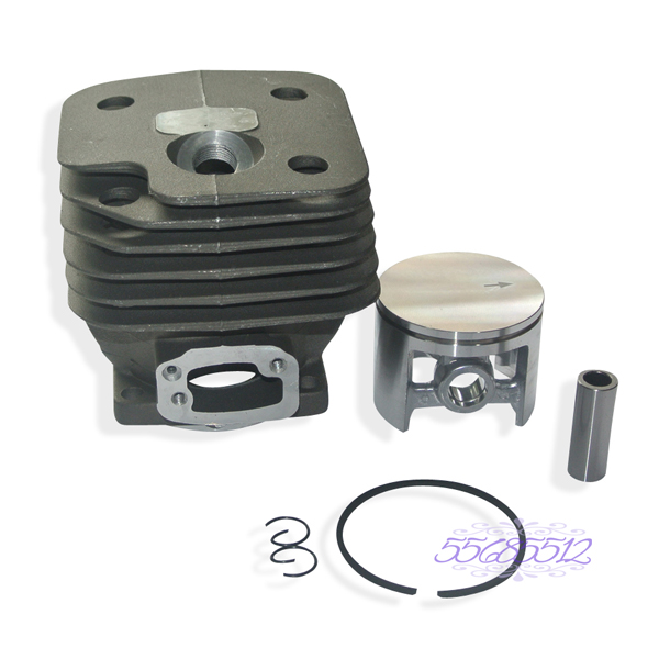 52mm Cylinder Barrel & Piston Assembly Fits HUSQVARNA 61 268 272 Chainsaw Part 41mm cylinder barrel cover piston kit w rings part fit for partner chainsaw 350 351