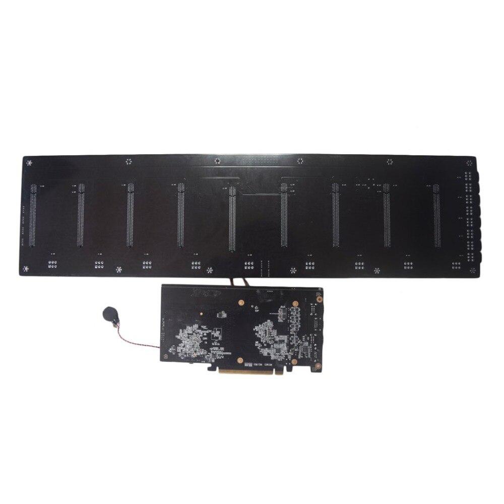 BTC-HM65 minería tablero DDR3 memoria M.2 SSD SATA RJ45 red salida HD soporte HDMI apoyo Mainboard 8 tarjeta gráfica PCIE