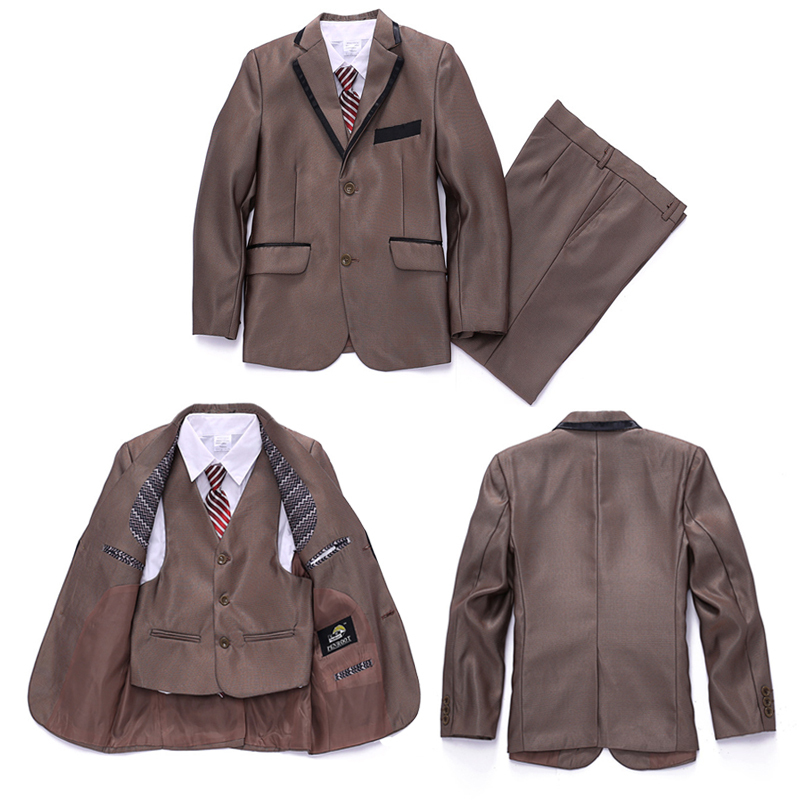 3 piece set Blazer Baby boys Blazers suits Kids baby clothes Wedding Infant Clothing Boys jackets suit