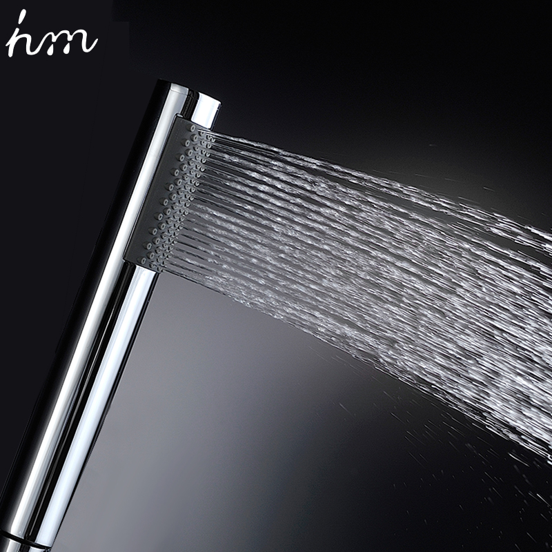 hm 2016 NEW Bathroom Faucet Accessories Products Solid Brass Chrome Finished Round Hand Shower ,Hand Held Head