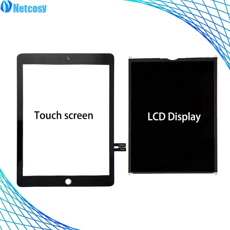 Pour ipad 9.7 2018 Version A1893 A1954 Tablet écran Tactile/LCD Display pièces de rechange Pour ipad A1893 A1954 Écran réparation