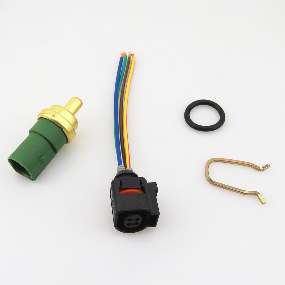 DOXA Sensor Plug Cable Cooling Water Temperature Switch For A3 A4 A6 Q3 Q5 VW Golf Jetta Beetle Passat B5 Tiguan Seat 059919501A