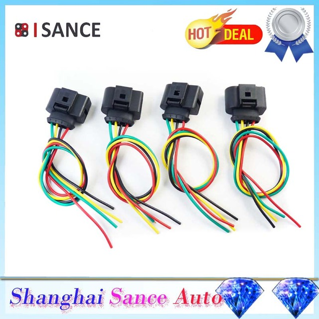 isance ignition coil plug connector wiring repair kit 1j0973724 for rh aliexpress com Automotive Wiring Kit auto electric repair kit