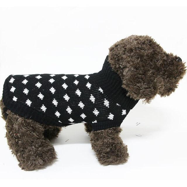 Dongkuan Amoy Pet Pet Dog Sweater New Sweater Knitting Pattern Can