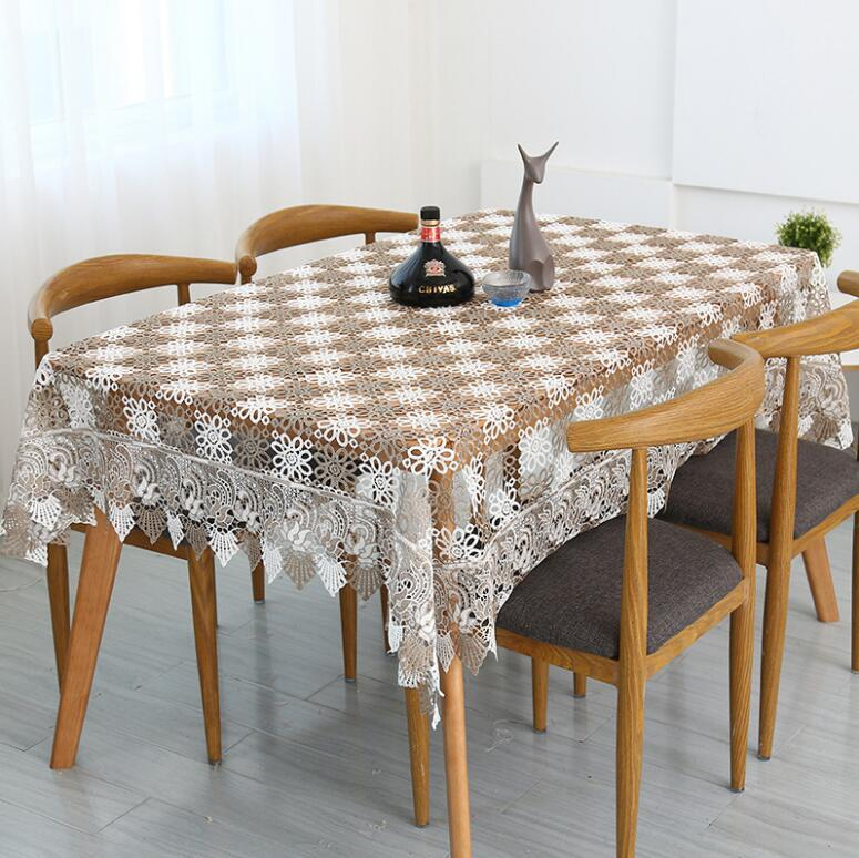 Stolze Rose Spitze Tischdecke Tischdekoration Mode Hochzeit - Haustextilien - Foto 3
