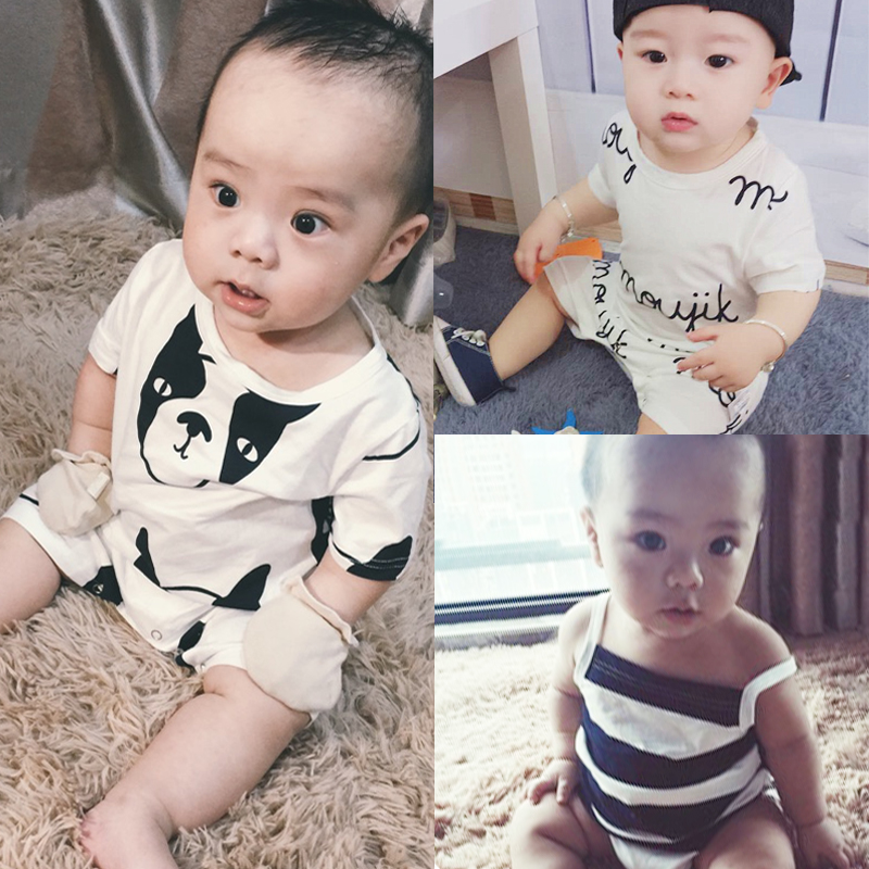 Newborn Baby Rompers Comfy Tiny Cotton Overall Summer Playsuit Baby Boys Outfit Clothing Infant Jumpsuits For Girls Cute Clothes cotton baby rompers set newborn clothes baby clothing boys girls cartoon jumpsuits long sleeve overalls coveralls autumn winter