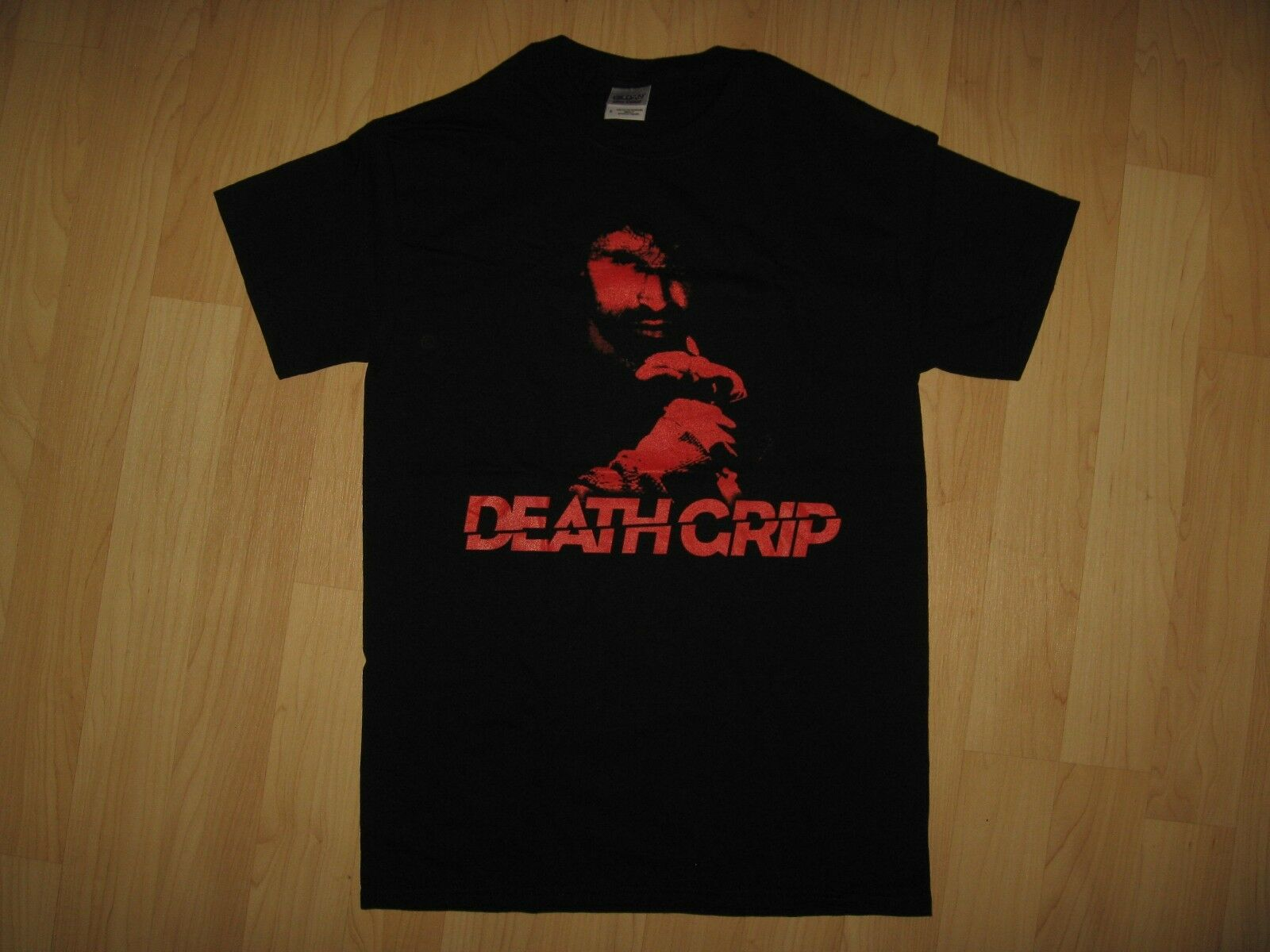 Death Grip Movie Tee - 2012 Martial Arts Film Eric Jacobus Black T Shirt Small 100% Cotton Short Sleeve Summer T-Shirt image