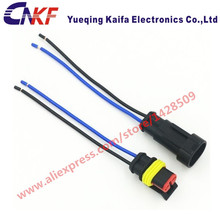 waterproof wiring harness online shopping the world largest tyco amp 2 pin female male auto connector sealed waterproof plug automobile wiring harness 15326801 13510085 282104 1
