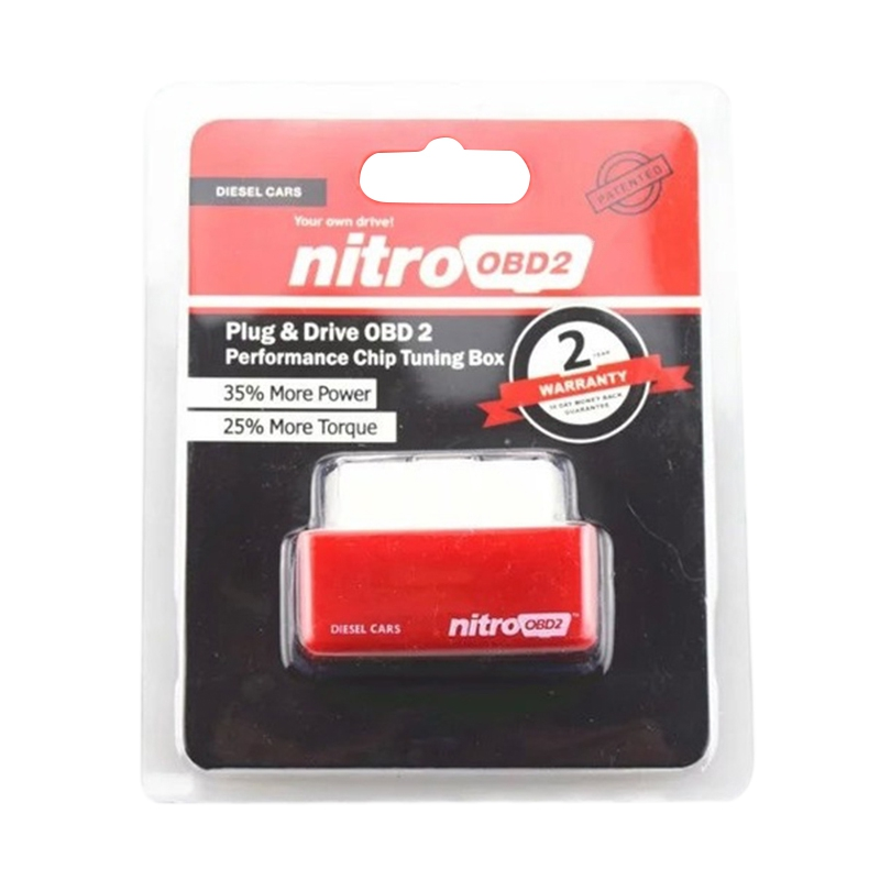 Nitro OBD II Car Diagnostic-Tool Gauge Auto Tools OBD2 Car-Detector - Auto Replacement Parts