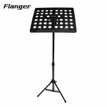 Flanger Colourful Sheet Folding Music Stand Aluminum AlloyTripod Stand Holder With Soft Case with Carrying Bag Ship From Russia