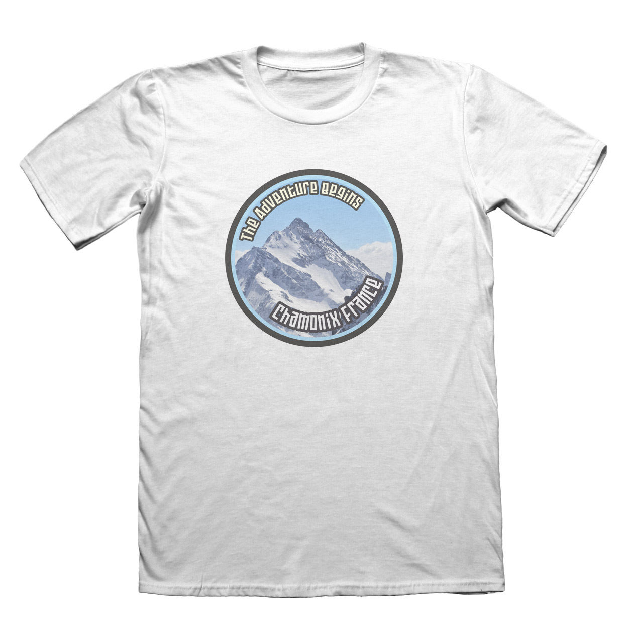 Chamonix France T-Shirt - Mens Fathers Day Christmas Pride Of The Creature T-Shirts
