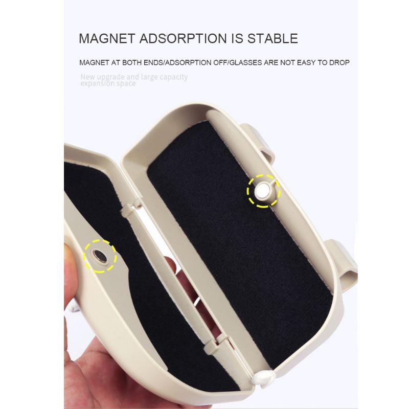 Креативные автомобильные принадлежности очки чехол кронштейн драйвер футляр для солнцезащитных очков солнцезащитный козырек многоцелевой автомобильный зажим для очков