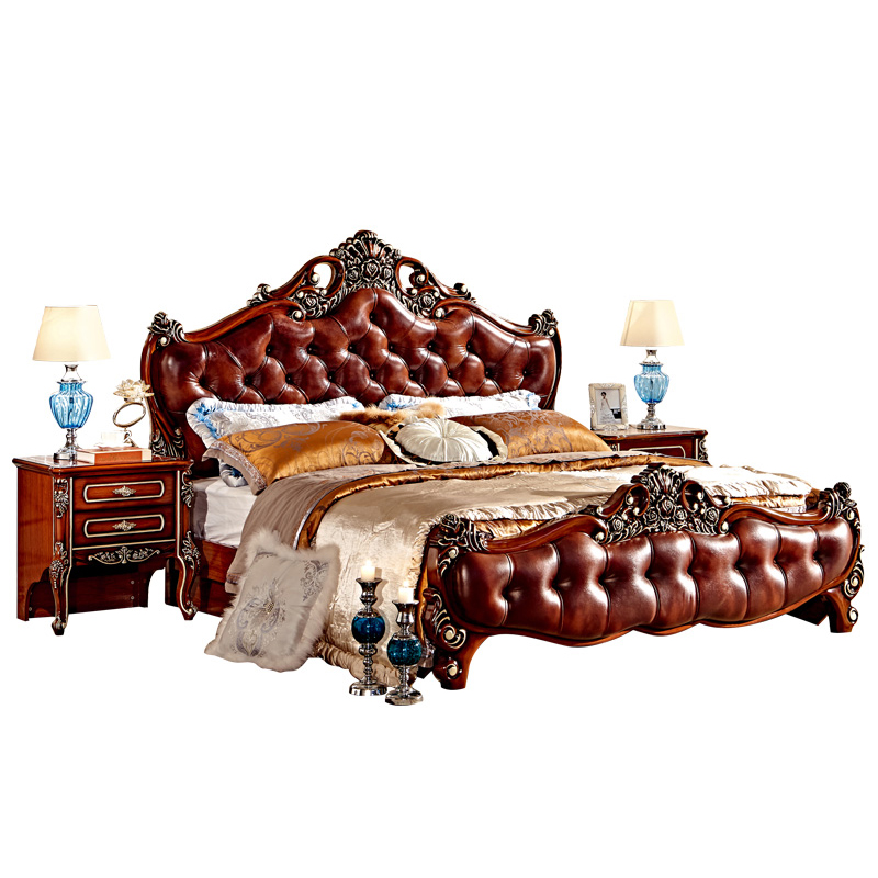 Us 853 0 Antique King Size Bedroom Furniture Latest Solid Teak Wood Double Bed Designs In Bedroom Sets From Furniture On Aliexpress 11 11 Double