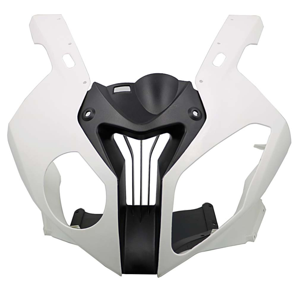Motorcycle Injection Unpainted Upper Front Cowl Nose Fairing Side for BMW S1000RR S 1000 RR S1000 RR 2010 2011 2012 2013 2014