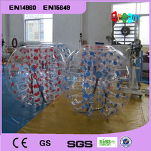 Free Shipping!1.5m inflatable bubble soccer ball/bumper ball/zorb ball/loopy ball  for games