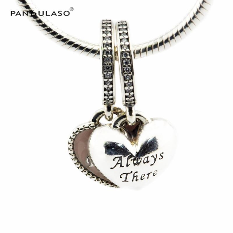 17fa10a87 Best Friends, Soft Pink Enamel & Clear CZ Beads 925 Sterling-Silver-Jewelry  Fit Silver Charm Bracelet Woman Silver Bead Jewelry