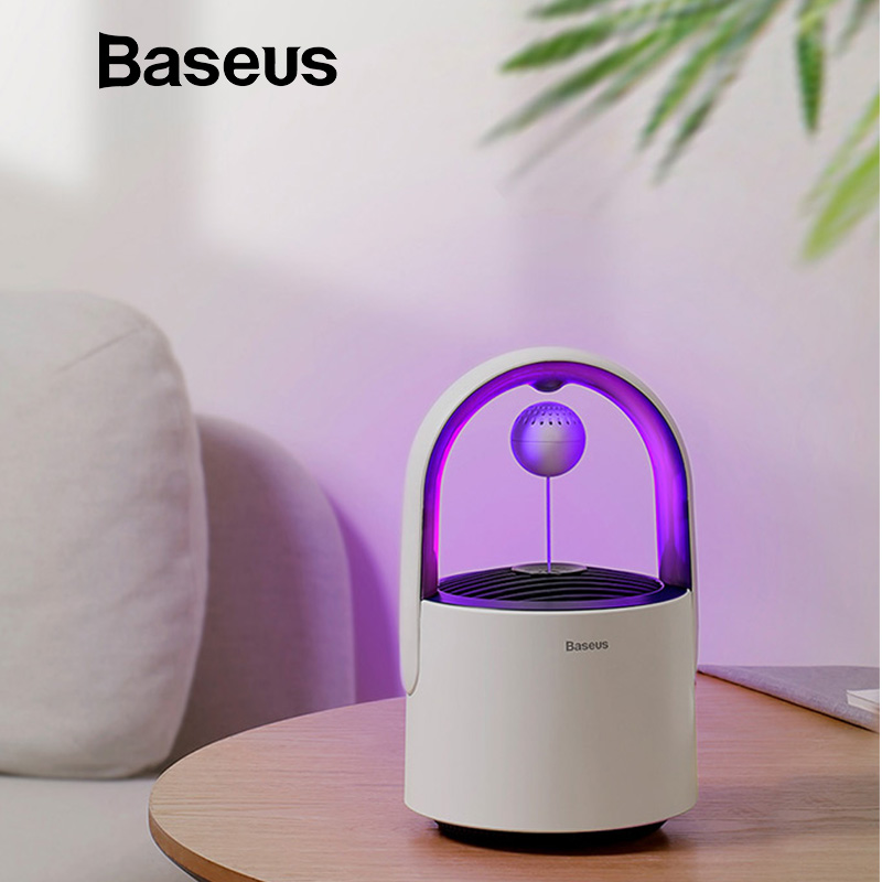 Baseus USB Light Electric Anti Mosquito Killer Lamp LED Mosquito Killer Control Lamp Insect Trap Home
