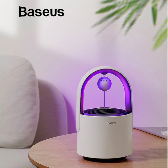 Baseus USB Light Electric Anti Mosquito Killer Lamp LED Mosquito Killer Control Lamp Insect Trap Home Pest Control Bug Zapper