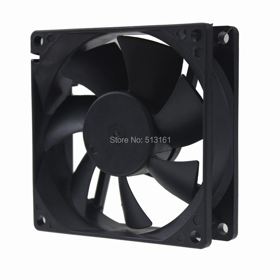 Купить с кэшбэком 5PCS Gdstime 8025 12V 3Pin Cooler 80x80x25mm Electric Fan 80mm 25mm Radiator