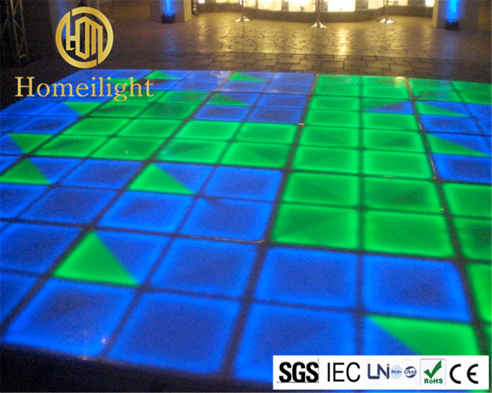 Dmx Rgb Dancing Floor 11m Dancing Panel With Voice Control Stage