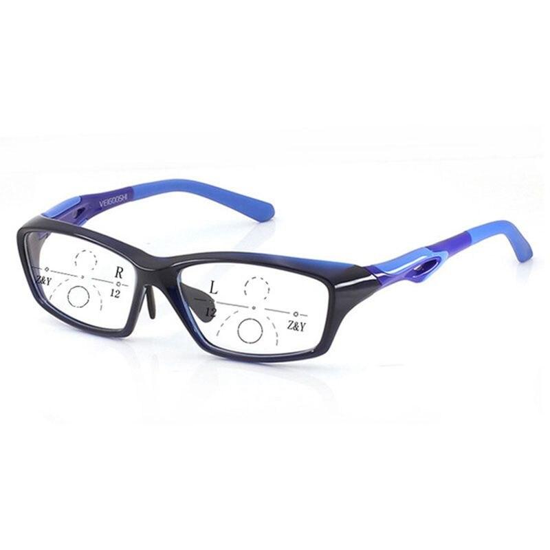 Hommes Style Tr90 lunettes de lecture progressives photochromiques qualité mode presbytie Sports lunettes pour les hommes voir loin et voir près