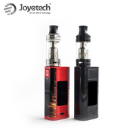 Original Joyetech Cuboid Tap Mod with Ornate Tank OLED display 228W 6ml Sub Ohm Tank 0.15ohm Electronic Cigarette on Sale!