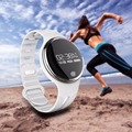 2016 Bluetooth4.0 Smart Sport Bracelet  Wristband Fitness Track for IOS for Android White