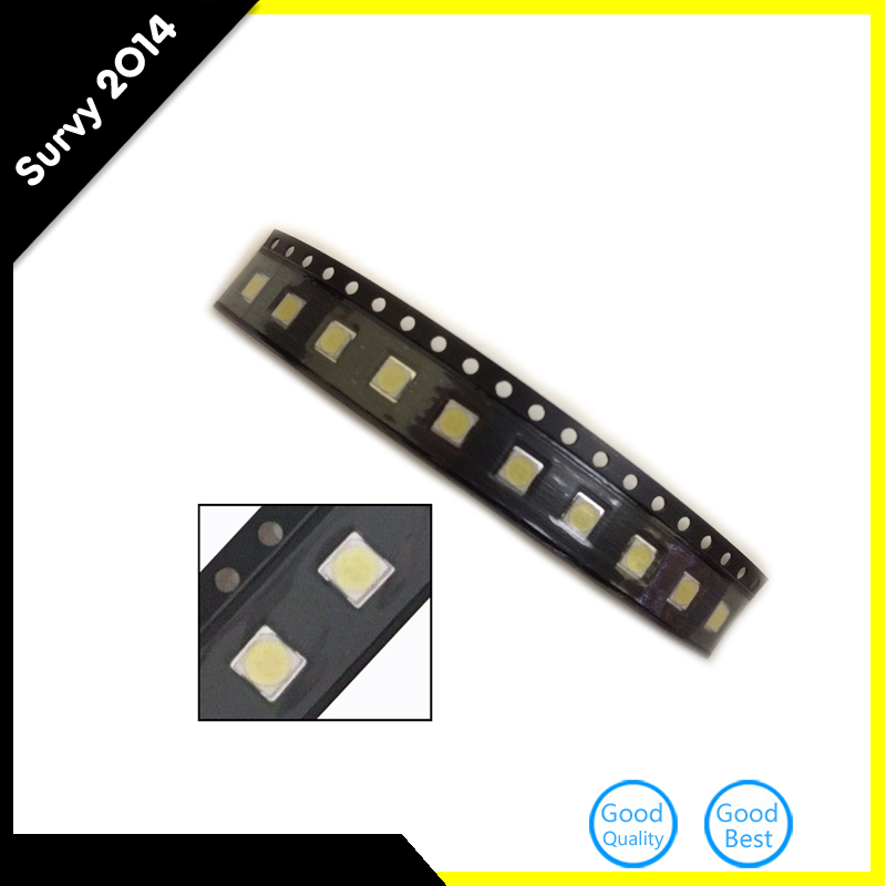 50pcs LG Innotek <font><b>LED</b></font> <font><b>LED</b></font> Backlight High Power <font><b>LED</b></font> <font><b>2W</b></font> <font><b>6V</b></font> <font><b>3535</b></font> Cool white LCD Backlight for TV