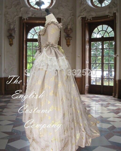 Online-Shop Die Ultimative Rokoko Marie Antoinette Kleid Kolonial ...